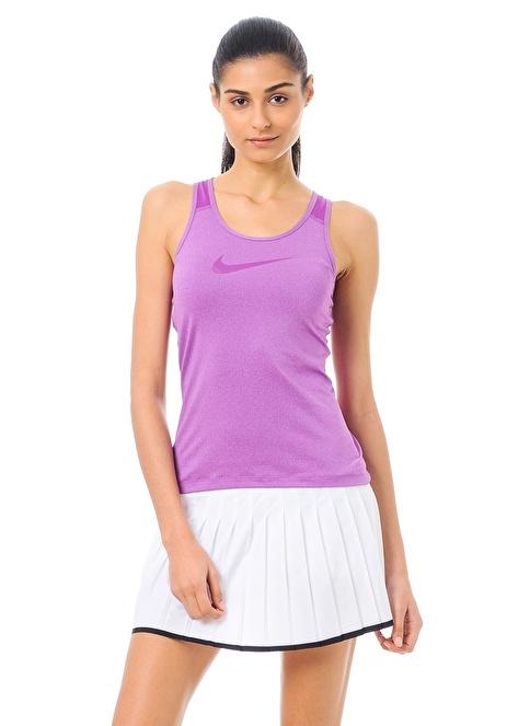 Nike Pileli Mini Spor Etek Beyaz